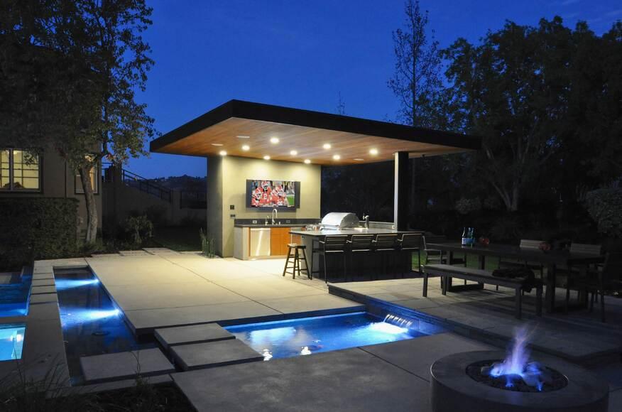 el pintado pool pavilion architect magazine huettl landscape
