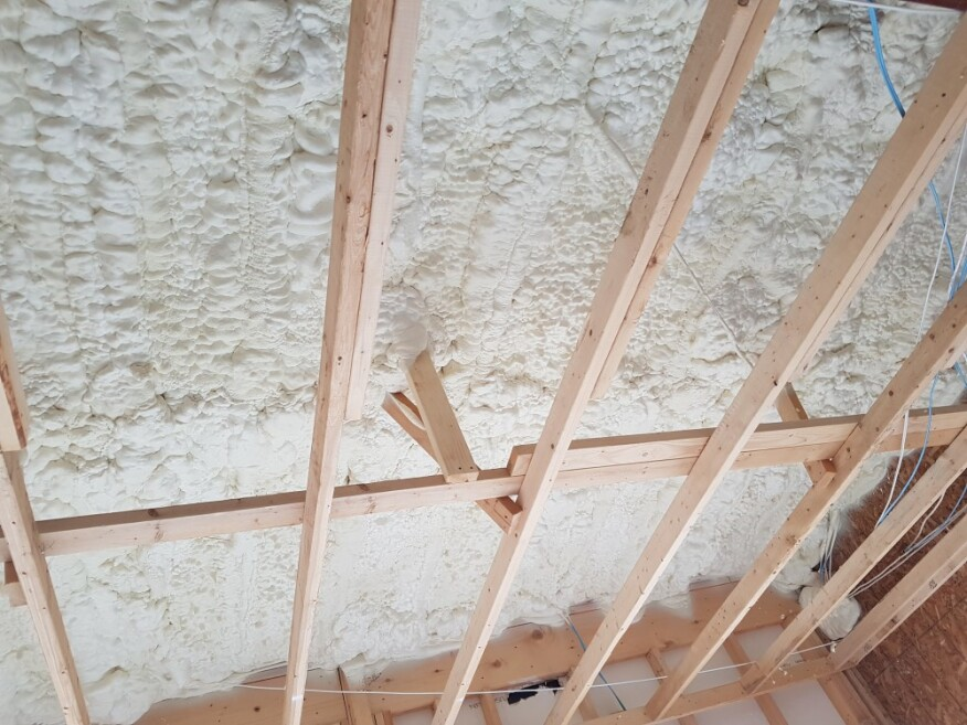 New Icynene Lapolla Open Cell Spray Foam Designed For High