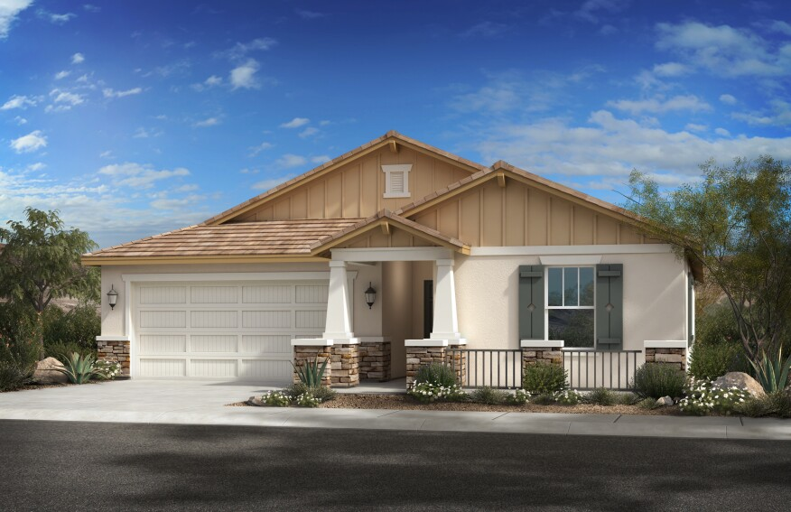 A new KB home in Glendale.