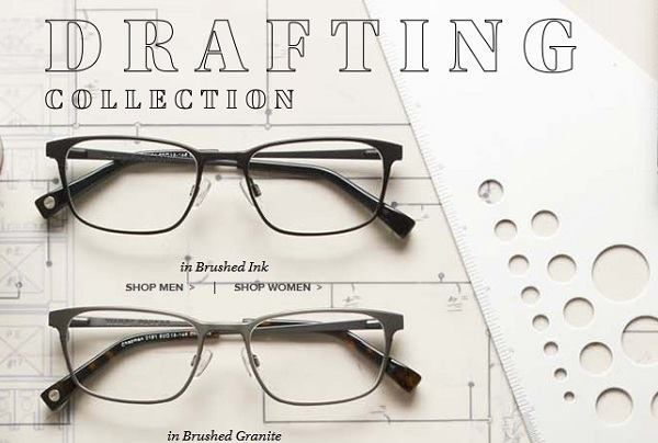 Warby Parker Introduces New Architect Themed Drafting Collection ...