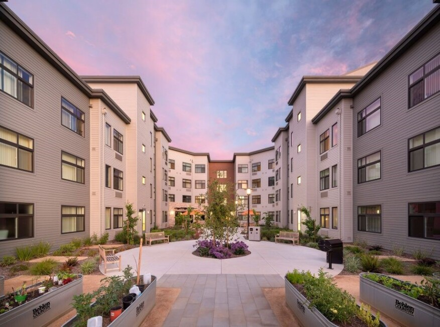 In June, nonprofit Eden Housing opened the 90-unit Pauline Weaver Senior Apartments for very low- and extremely low-income seniors 62 and older in Fremont, Calif.