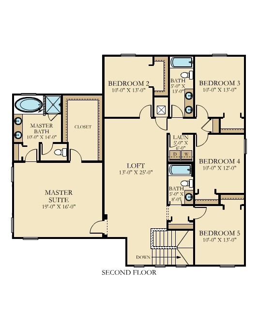 Lennar s next gen floor plan now available in tampa bay for Floor plans 761 bay street