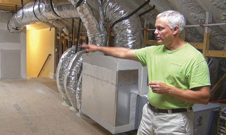 Buried Ductwork In The Energy Code Jlc Online