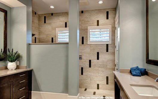 photo by me parker - Modern Master Suite Bathroom