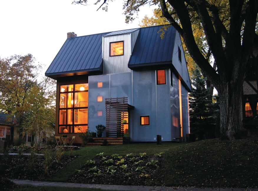 Architect Finds Way To Use See Through Siding Builder
