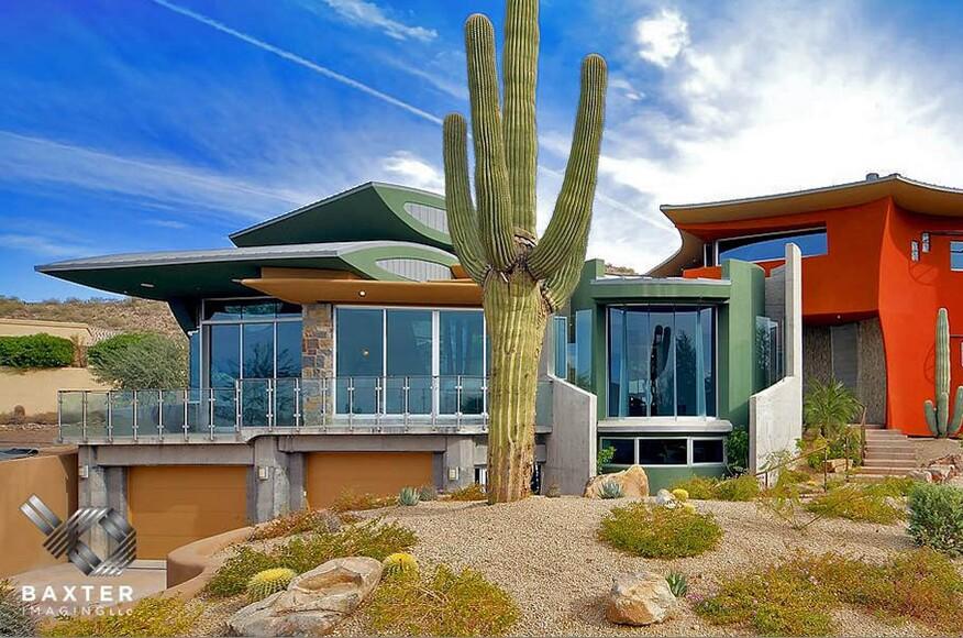 Scottsdale arizona modern desert villa architect for Scottsdale architecture firms