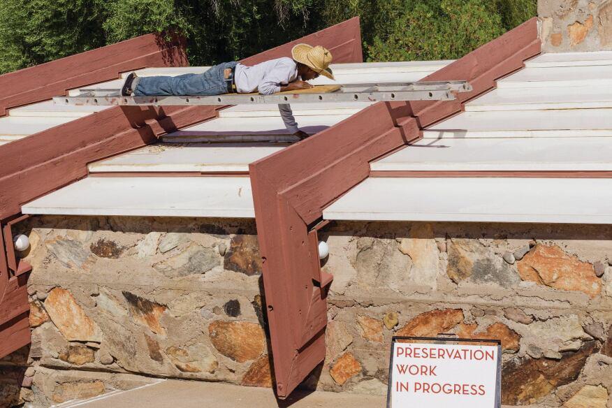 Seeking The Wright Path At Taliesin West Architect Magazine