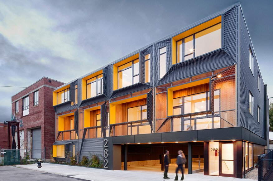 Marginal street lofts residential architect merge for Residential architect design awards