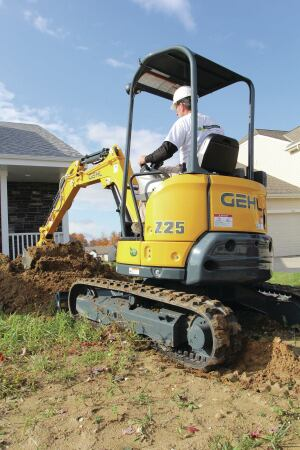 Compact Excavator Enhances Productivity| Concrete