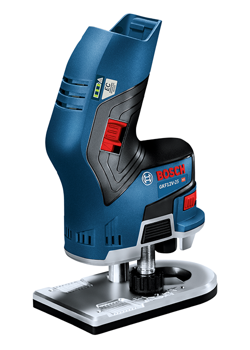 the most compact cordless router from bosch tools of the. Black Bedroom Furniture Sets. Home Design Ideas