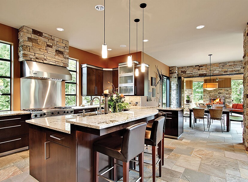 kitchen and great room floor plans 10 floor plans with great kitchens builder magazine 9041