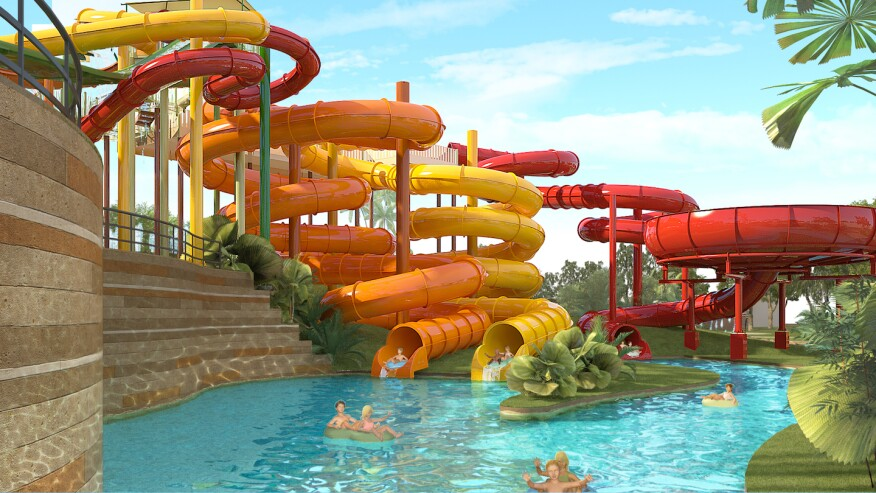 2018 New Products For Waterparks And Sprayparks Aquatics
