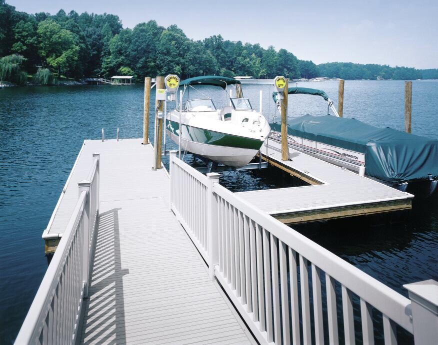 Hollow-Core Vinyl Decking | Professional Deck Builder