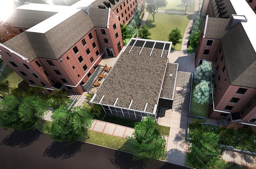 Glenn towers residence halls renovation residential for Residential architects atlanta ga