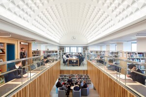 Library Architectural Lighting Magazine