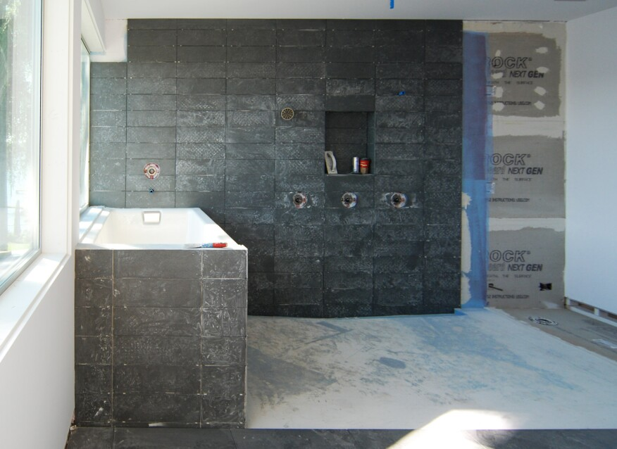 Mastering The Curbless Shower Custom Home Magazine