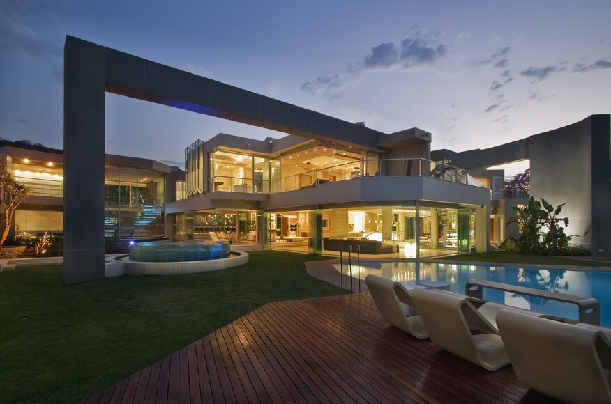 Glass House Mansion