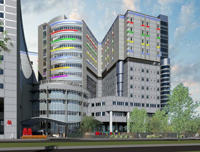 Monroe Carell Jr  Children's Hospital at Vanderbilt Vertical