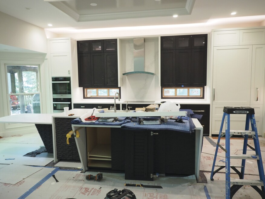 Dealing With Out Of Level Kitchen