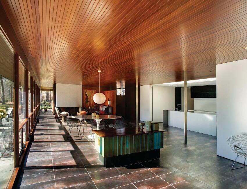 Joeb moore partners retrospective custom home magazine - Stonington residence by joeb moore partners ...