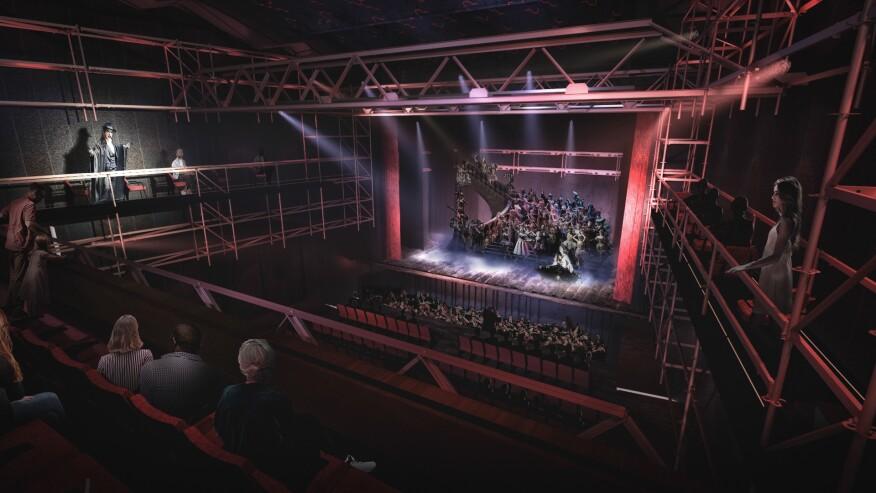 View of the Teobaldo Power Auditorium after rehabilitation