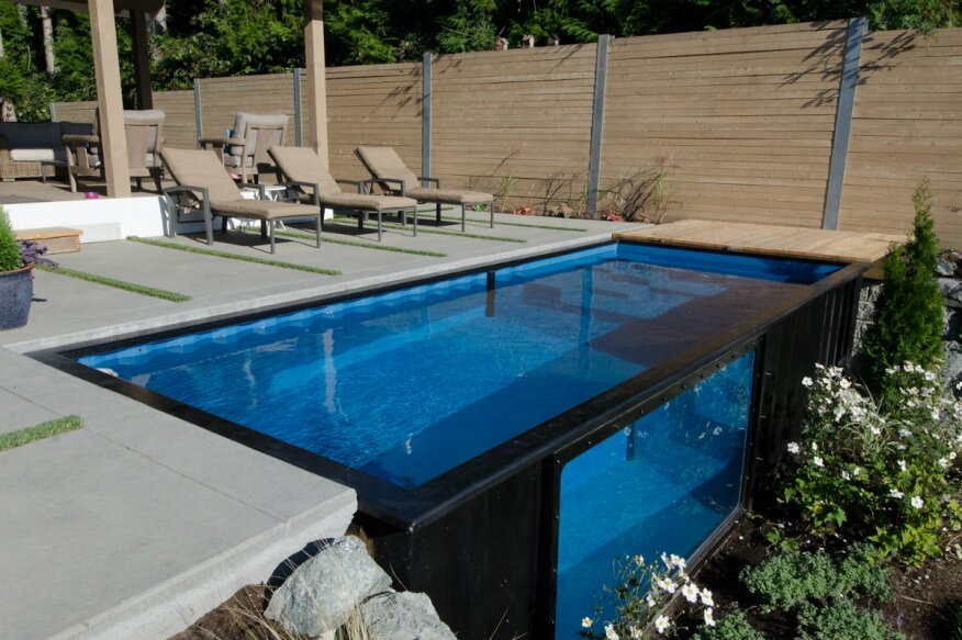 Lifestyle Trends Give Rise to Modular Plunge Pools | Pool & Spa News on tiny ponds, tiny swimming pools, tiny spa pools, tiny fireplaces,