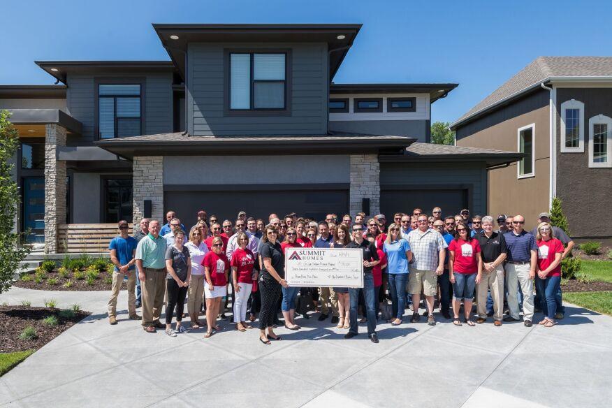 Summit Homes Donates 718k Zero Hero Home Sale To St Jude