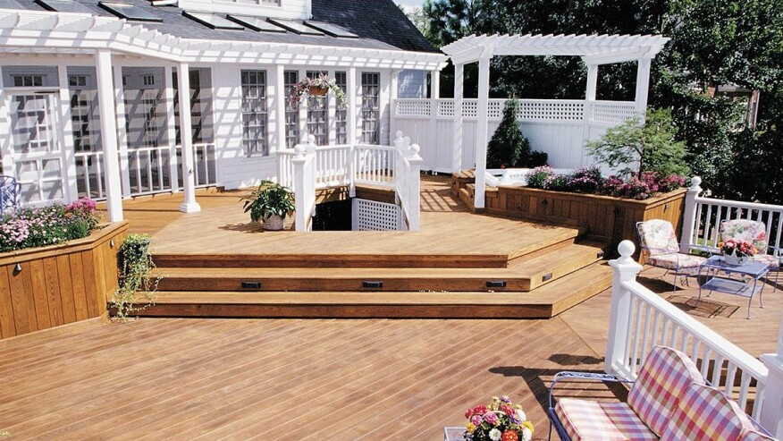 For An Outdoor Feature That Will Make A Lasting Impression Year After There Are Multiple Use Categories Of Pressure Treated Lumber To Help
