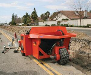 phoenix curb machines pcm 2500 curber concrete construction