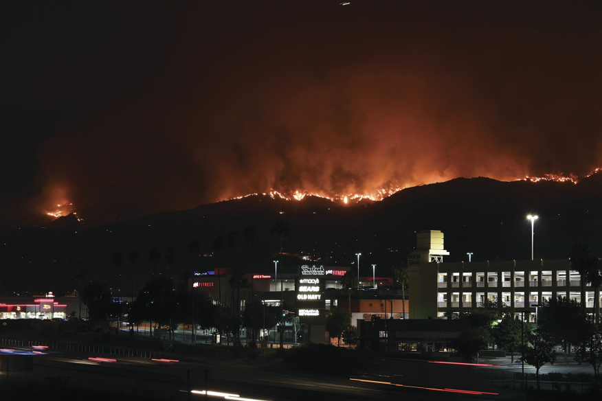 In early September, the La Tuna Fire, one of the worst conflagrations in Los Angeles history, burned through 7,194 acres in the Verdugo Mountains and drew more than 1,000 firefighters from all over California to help put it out. If we don't sharply reduce CO2 emissions, by 2050 the risk of wildfire will increase across the country, the fire season will begin even earlier and end even later, and the greatest impact will be felt in the South Central states, including Kansas, Louisiana, Oklahoma, and Texas.