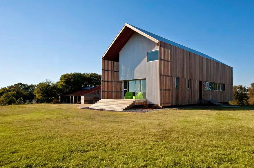 Barndominium architect magazine logan johnson for Least expensive house to build