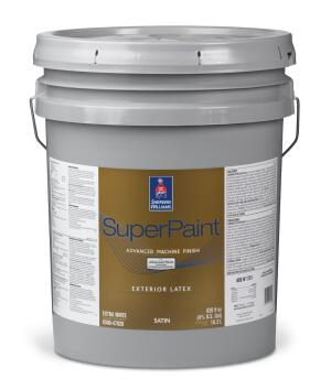 Sherwin-Williams SuperPaint Advanced Machine Finish | Remodeling