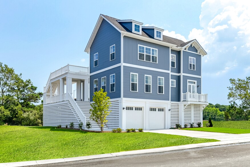 The Sandpiper model has proved popular at Evergreene Homes' Ocean View, Del., Tidal Walk community.