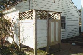 Designing Outdoor Showers Professional Deck Builder