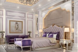Royal Master Bedroom Design In Luxury Villa Architect Magazine