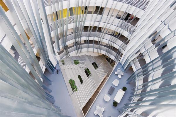 new carver apartments architect magazine michael maltzan
