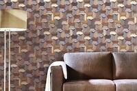 Five Textured Wood Panels