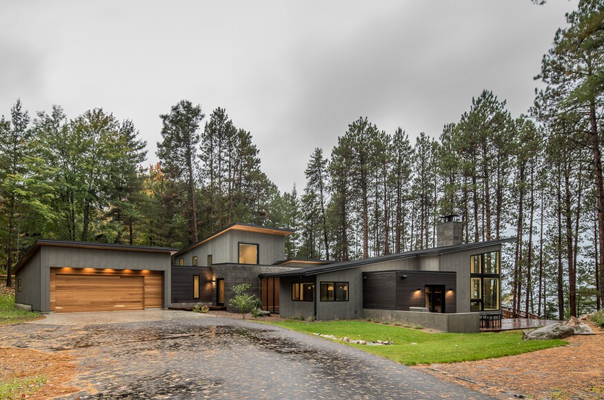Northern Lake Home | Architect Magazine | Strand Design , MN, Single ...