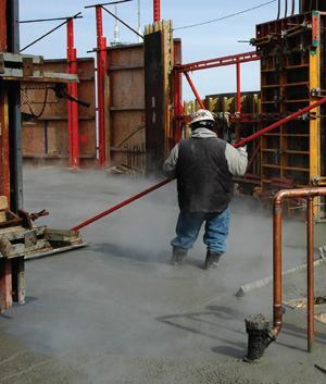 Placing Structural Concrete Under Winter Conditions