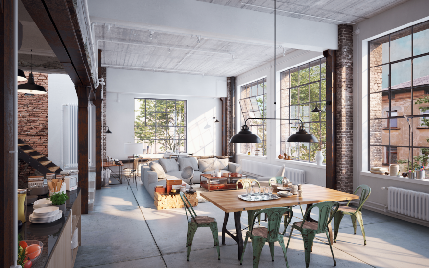 2019 Trend Watch: Farmhouse Style is Out, Industrial Vibes ... on zillow living room designs, zillow bedroom designs, zillow bathroom designs,