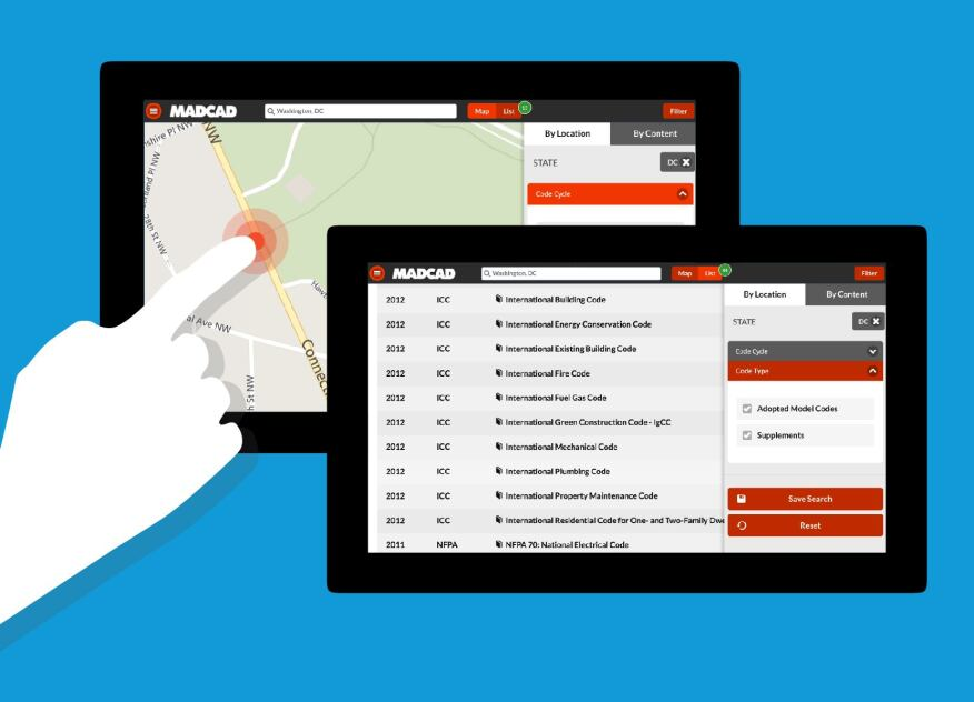 Madcad launches free search app for local building codes for Find a local builder