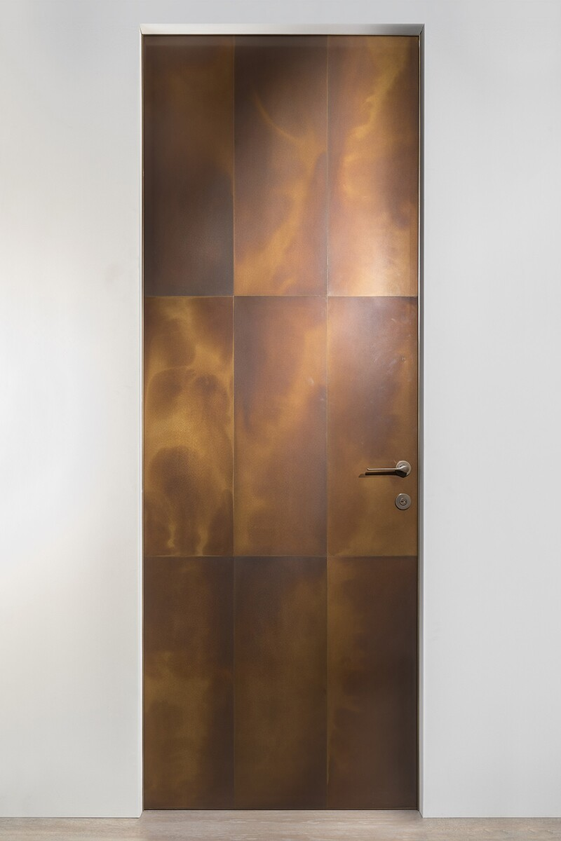Interior Bronze Doors By Astec Architect Magazine Products Stéphane Parmentier