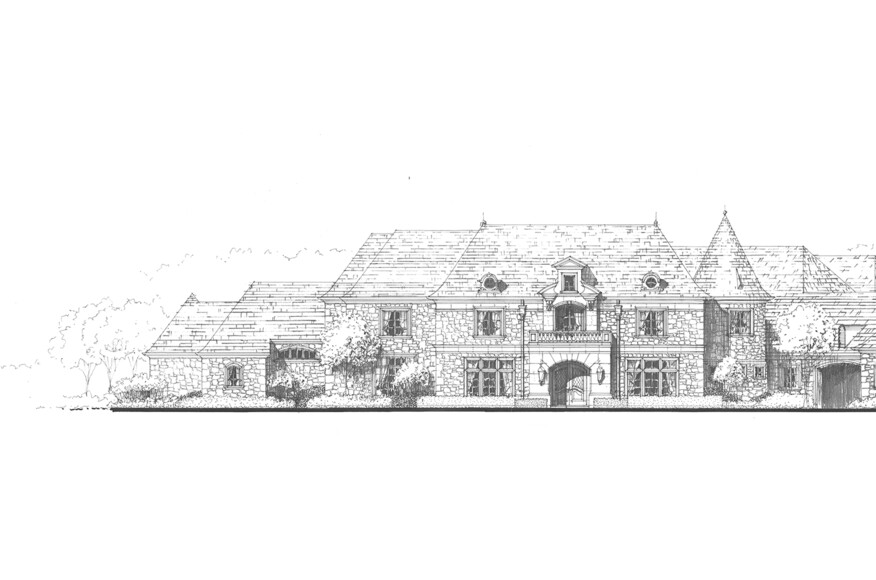 Plano texas french country residence custom home for French country magazine online
