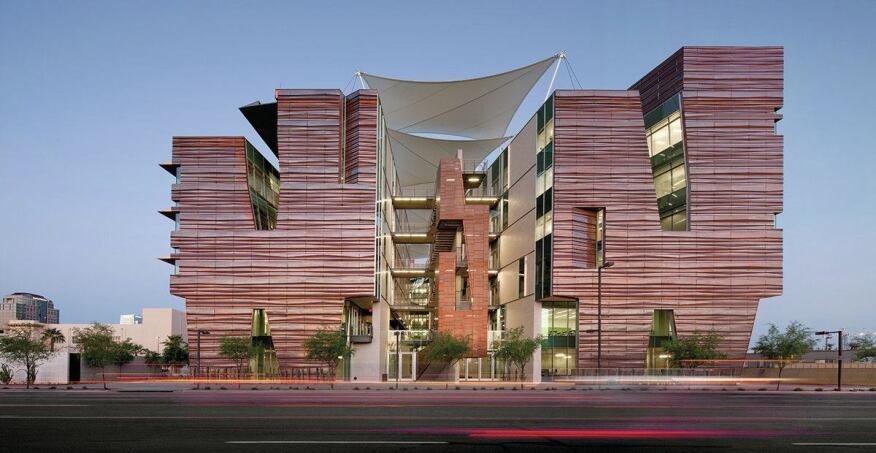 Copper Keeps A Phoenix Medical Building As Cool As A Rock
