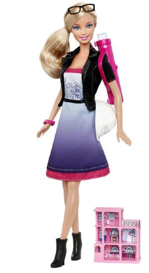 Inspire your daughter to become an architect by buying her an I Can Be  Barbie doll this holiday season. For about $30 on Amazon, you can buy her a  present ...