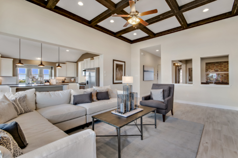 A Pacesetter Homes model at Orchard Ridge