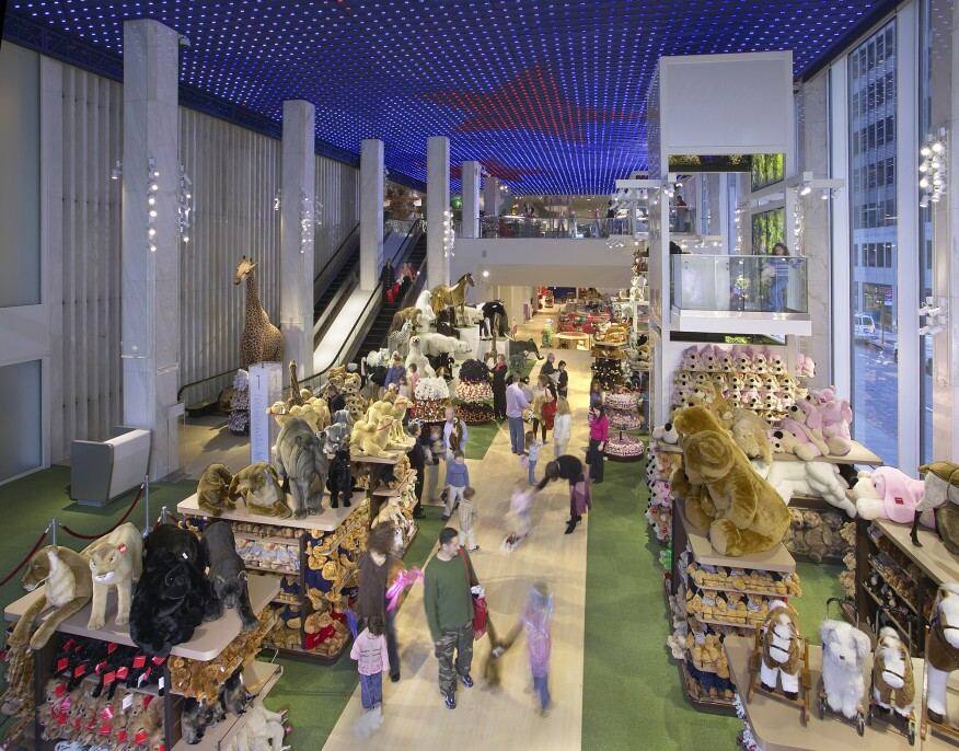 Fao schwarz to close architect magazine lighting design retail