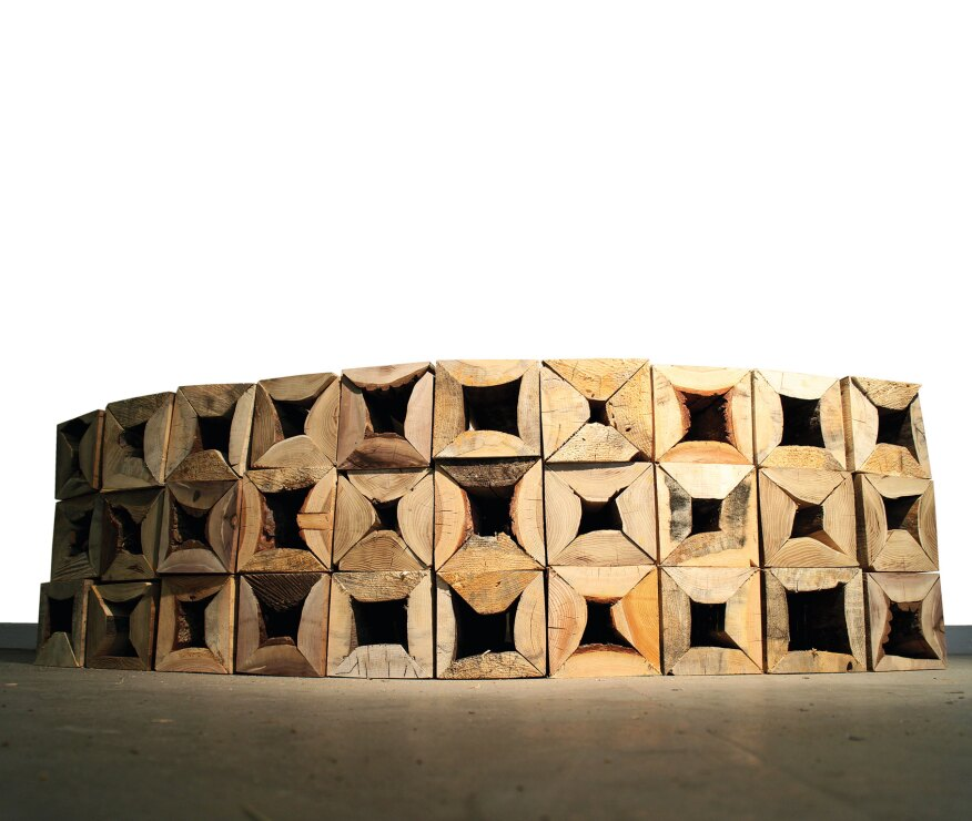 Ikd: Honorable Mention: Timber Waste Modular Unit