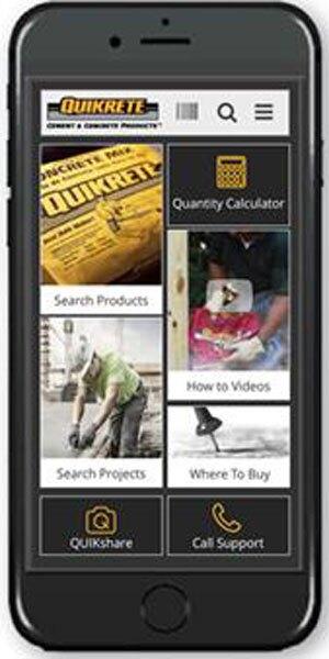 New Mobile App From Quikrete Concrete Construction Magazine