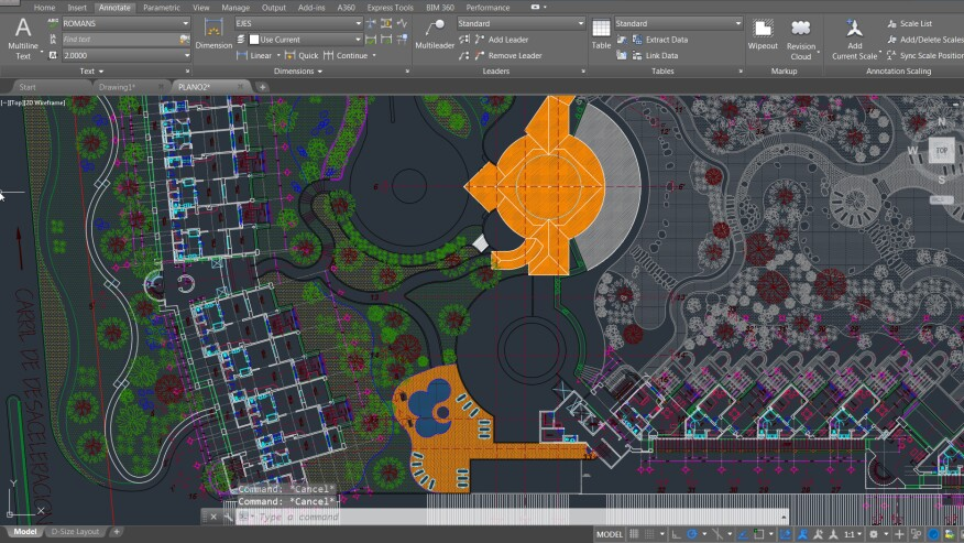Highlights of autodesks newly released autocad 2016 architect autocad 2016 features an improved new graphics engine and a sleek versatile user interface gumiabroncs Image collections